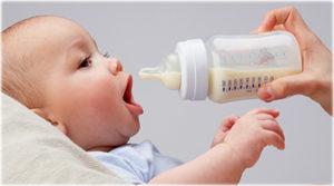 bottle feeding