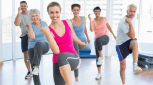 exercise and zumba