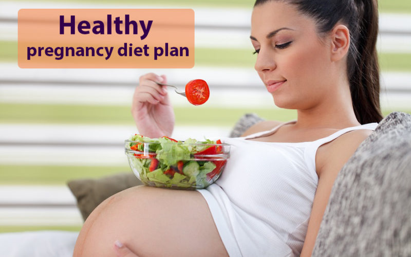 healthy pregnancy diet plan