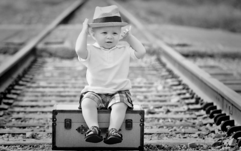 train travelling