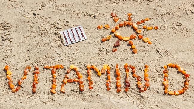 Vitamin D source Sunlight
